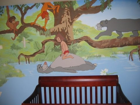 """Jungle Book"" Nursery, Kennesaw Homedit@gmail.com"