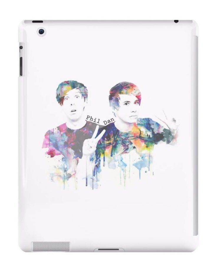 Our Watercolour Dan & Phil iPad Case is available online now for just £9.99.    Fan of Dan & Phil? You'll LOVE our new Dan & Phil iPad case.    Material: Plastic, Production Method: Printed, Authenticity: Unofficial, Weight: 60g, Thickness: 12mm, Colour Sides: White, Compatible With: iPad 2 | iPad 3 | iPad 4 | iPad Air | iPad Mini | iPad Mini 2, Features: Slim fitting one-piece clip-on case that allows full access to all device ports. This iPad case is extremely durable, shatterproof cas