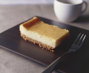 ニューヨークスタイルのベイクドチーズケーキ