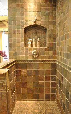 Country Bathroom Shower Ideas
