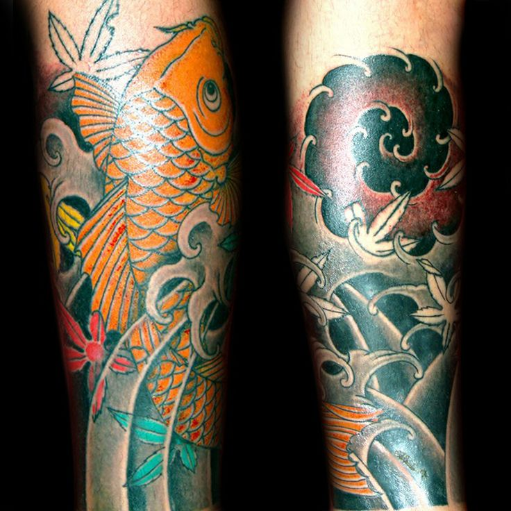 Japanese tattoo by Taki Tsan @truelovetattooathens#japanesetattoo#japanesetattoogreece#koifishtattoo#koifish