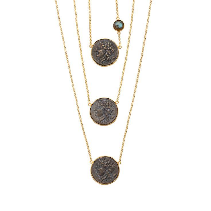 Nelle Necklace Gold