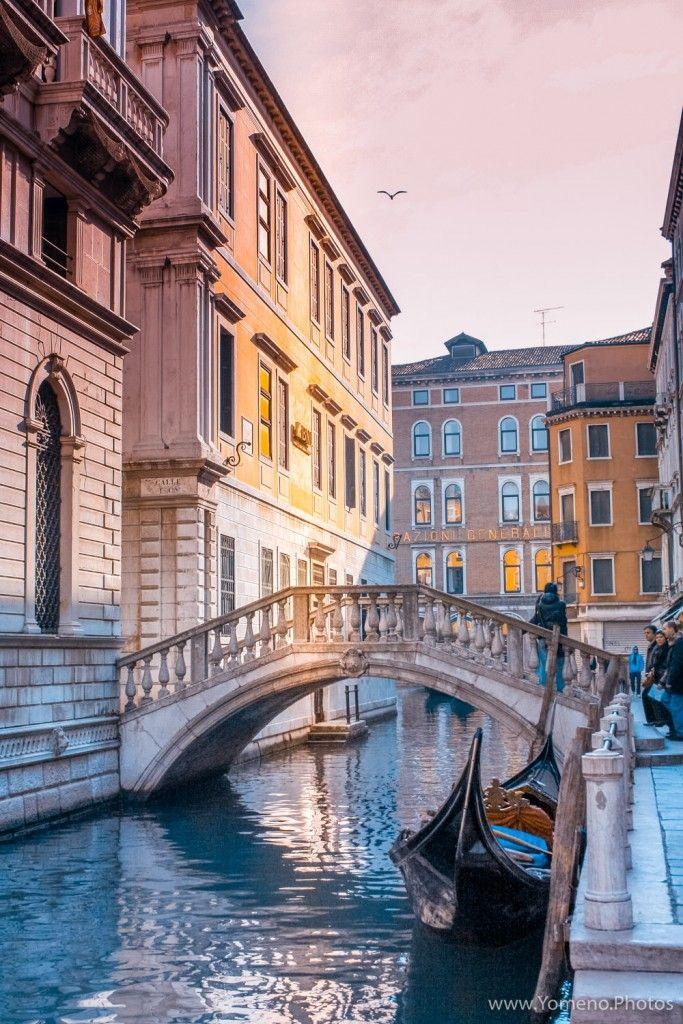 Petit pont de pierre, Venise, Italie