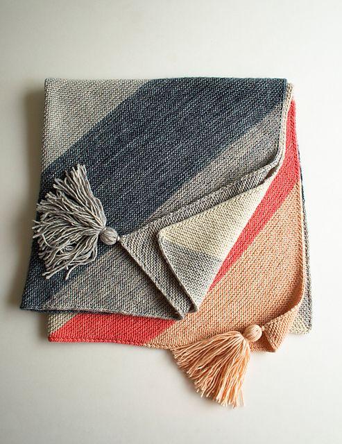 Colorblock Bias Blanket - Modelo Gratuito