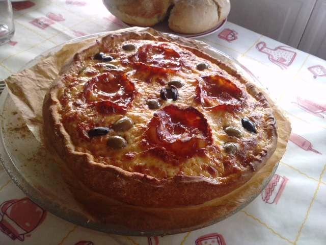 Pizza de Chourição