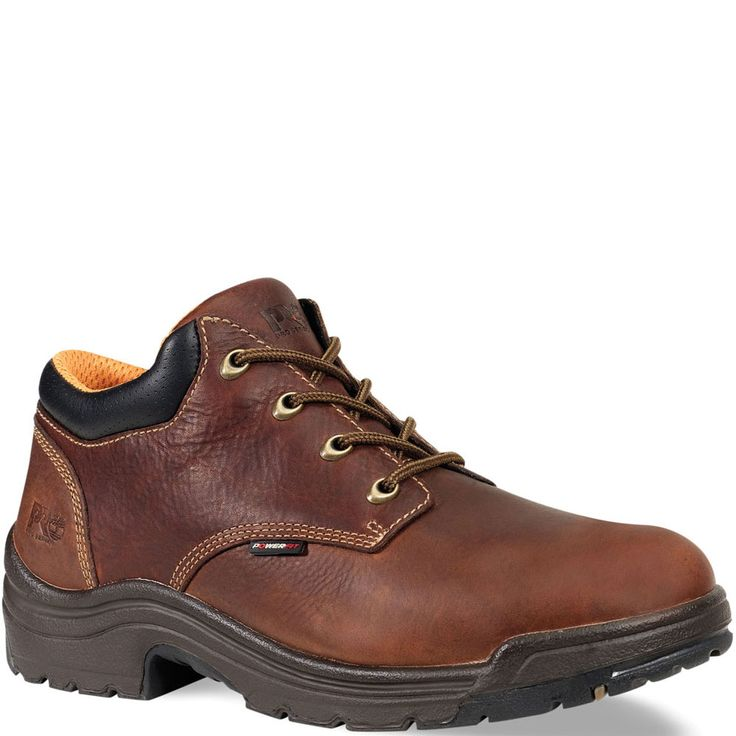 047028210 Timberland PRO Men's TiTAN Safety Shoes - Brown