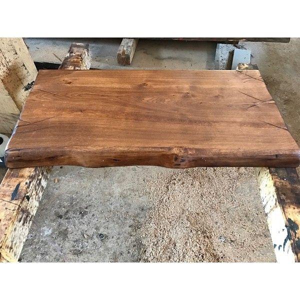 Baumscheibe Waschtisch Tischplatte Altholz Stil Antik Eiche