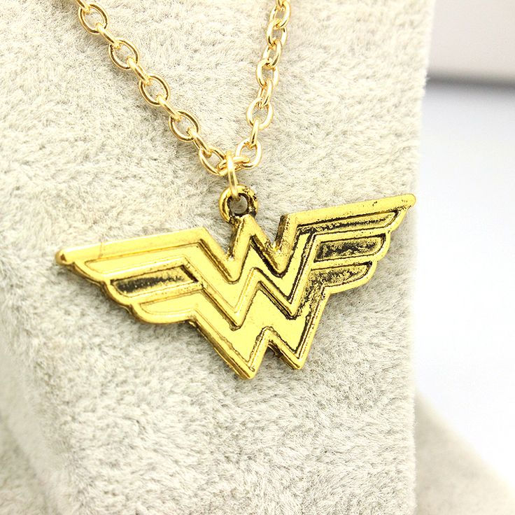 Wonder Woman Gold Wing Necklace