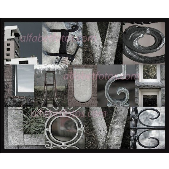 36 best images about letter photo on pinterest see more for Home decor 365