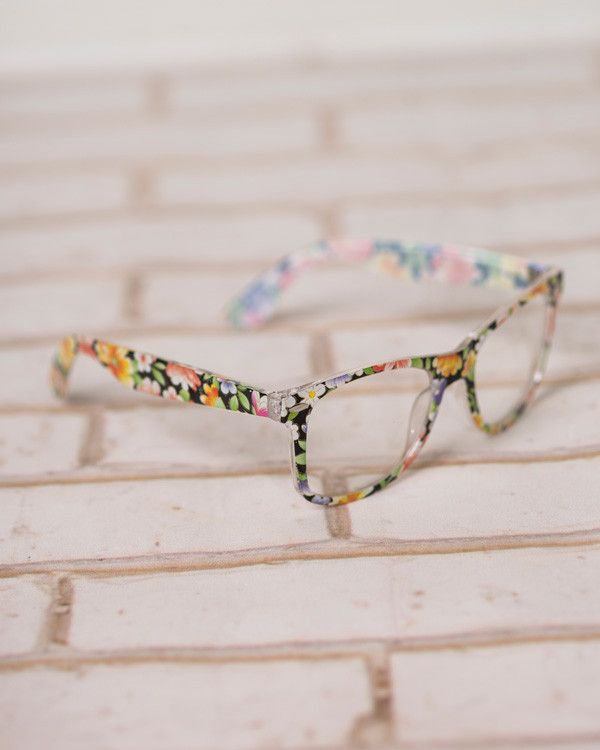 Floral Geek Chic Glasses