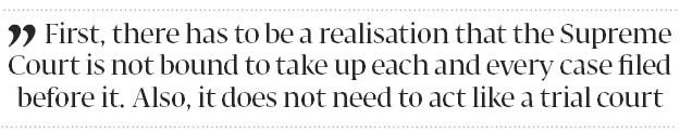 Expanding the Supreme Court - The Express Tribune