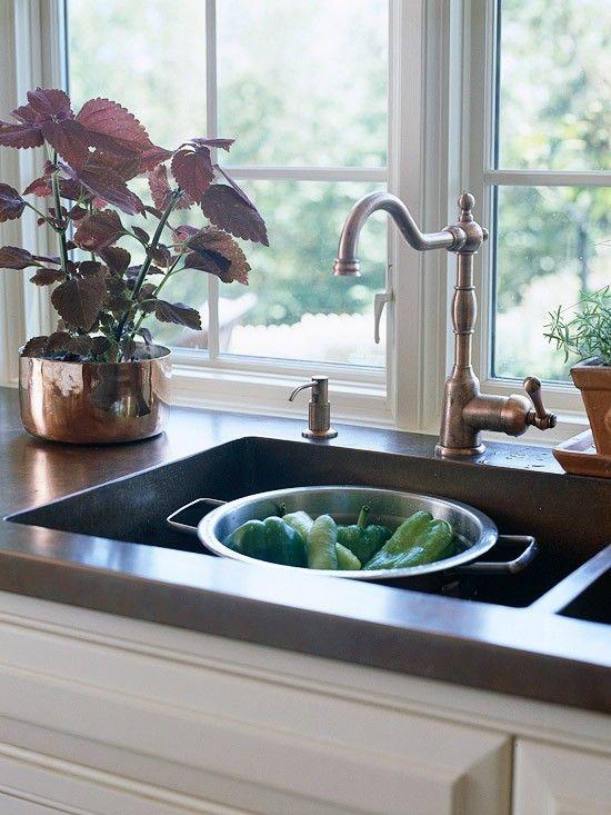 Loft U0026 Cottage: Some Help In Choosing A Kitchen Faucet #faucet