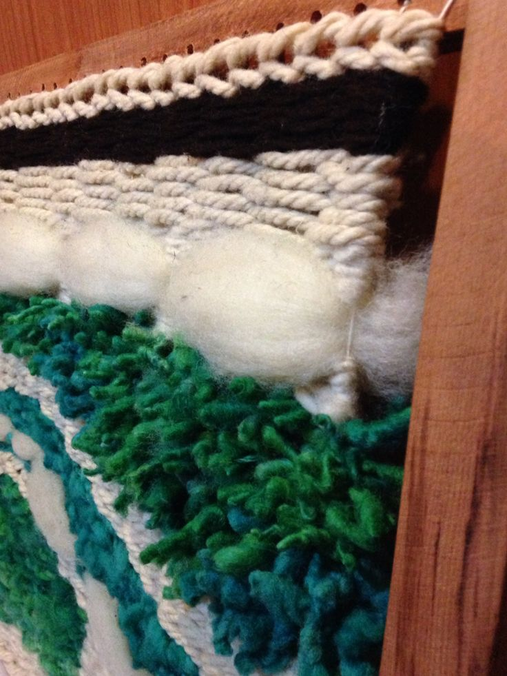 Telar lanas naturales