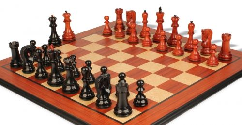 Chess Sets - Wood Chess Sets w/ Boards - The Chess Store