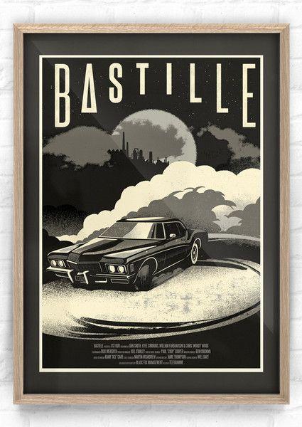 bastille tour merchandise