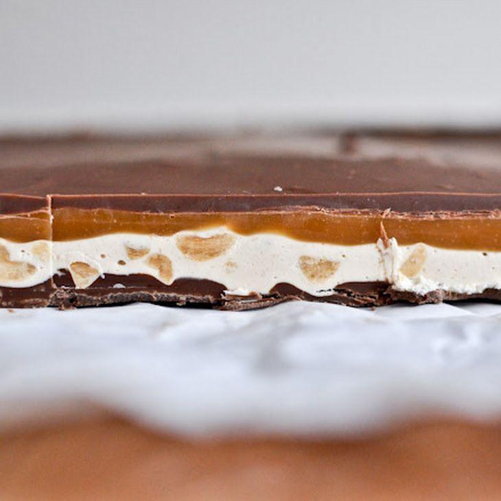Homemade Snickers Bars Recipe