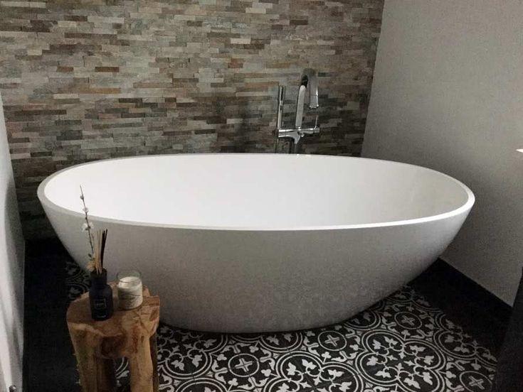 Die besten 25+ Weiße wanne Ideen auf Pinterest zu Fuß in der - freistehende badewanne raffinierten look