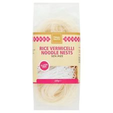 Thai Sabor arroz Vermicelli Otoñal Fideos nidos (200g) - Pack De 2