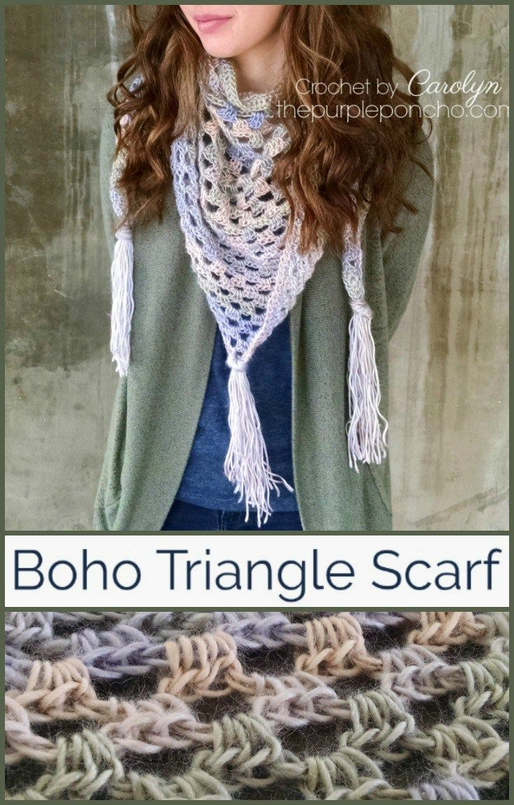 262 Best Crochet Scarves Images On Pinterest Crochet Scarves