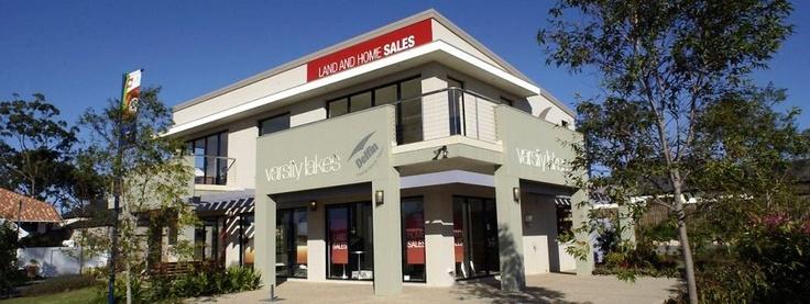 Varsity Lakes Sales Centre > Lend Lease Communities > Design and building documentation