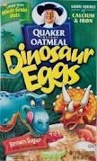 Dinosaur egg oatmeal.