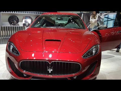 salon de geneve Maserati et quelques autres marques en direct mars 2017
