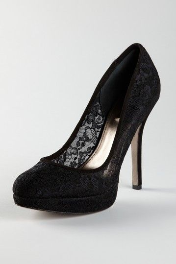 Flipp Black Lace Pump