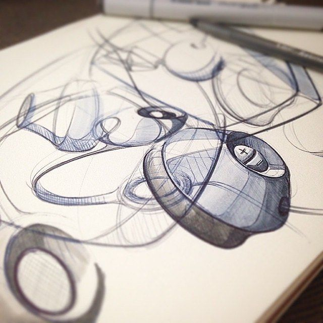 My brand new course: Perspective Sketching the Easy Way: From Coffee Cups to Cars is live!  Get your limited time coupon of 43% off now at TheSketchMonkey.com (link in bio)  Course goals: - easily sketch cars and products in perspective - how to boost your creativity - learn perspective sketching using simple geometries - learn to sketch a car in 3 views using Cloud Sketching - How to sketch a vacuum in perspective using simple guidelines - ...and a lot more  Go to thesketchmonkey.com click…