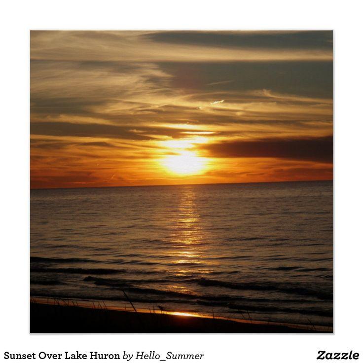 Sunset Over Lake Huron