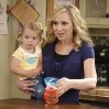 Good Luck Charlie on the Disney channel....this mom is hilarious!!