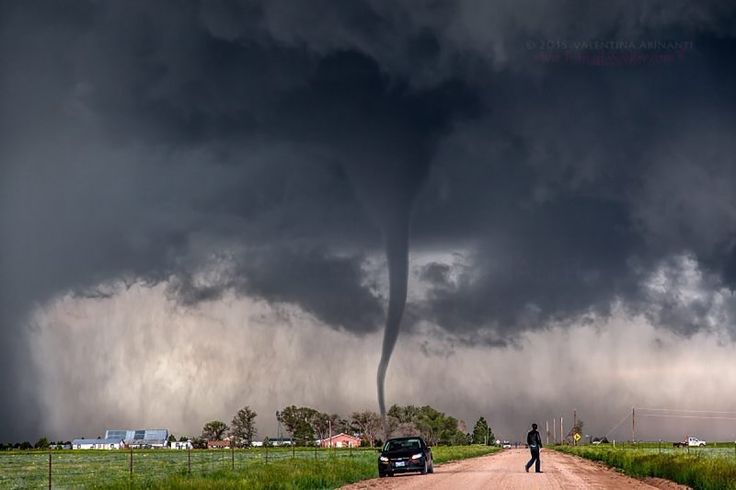 "Top 10 Weather Photographs: 6/30/2015 ""Tornado Creates Ominous Scene in Colorado"" – Tornado south of Matheson, Colorado. June 4th 2015."
