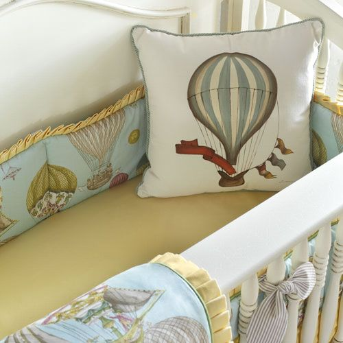 Balloon Rally Baby Bedding and Nursery Necessities in Interior Design Guide : All Baby Bedding at PoshTots