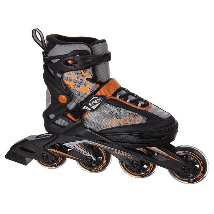 SPEX SPEED JR, De Speed JR-skates van Spex zijn ontworpen voor snelle, sportieve skaters.