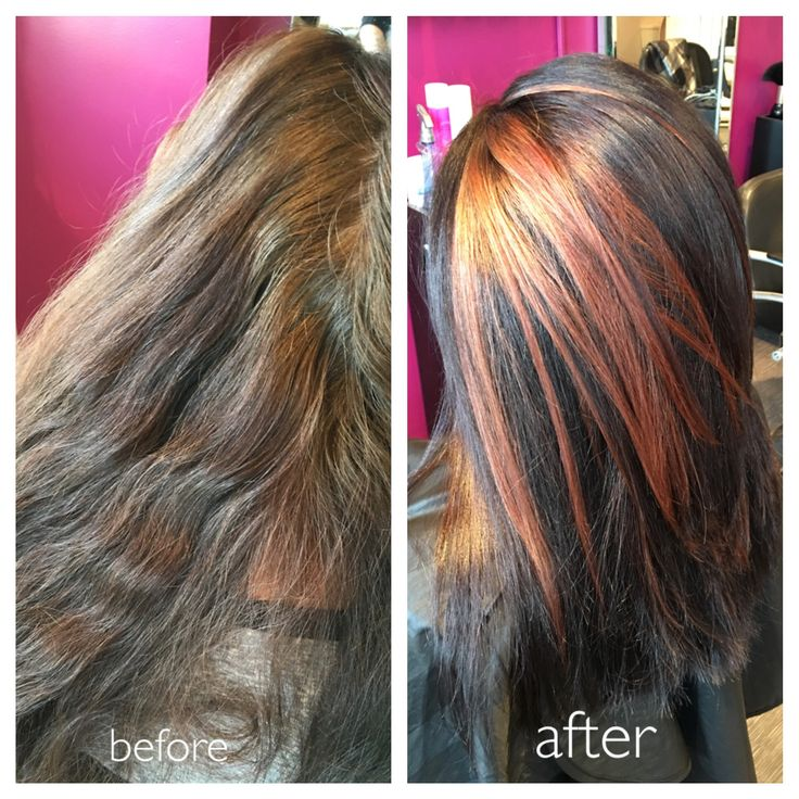 Cut and colour, adding definition and depth