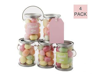 Mini Paint CAN Favour Containers Wedding Bomboniere Party Favours SET OF 4   eBay