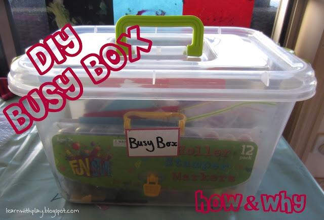 DIY Busy Box. How & Why