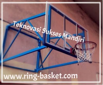 Ring Basket : Papan Pantul Basket - Wall Folding