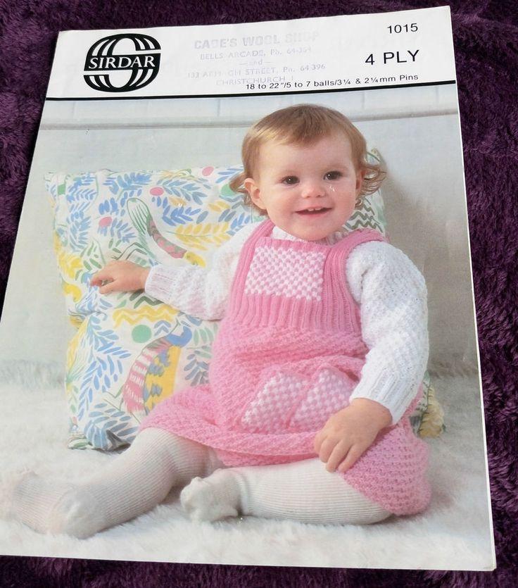247 Best Vintage Baby Knitting Patterns Images On Pinterest