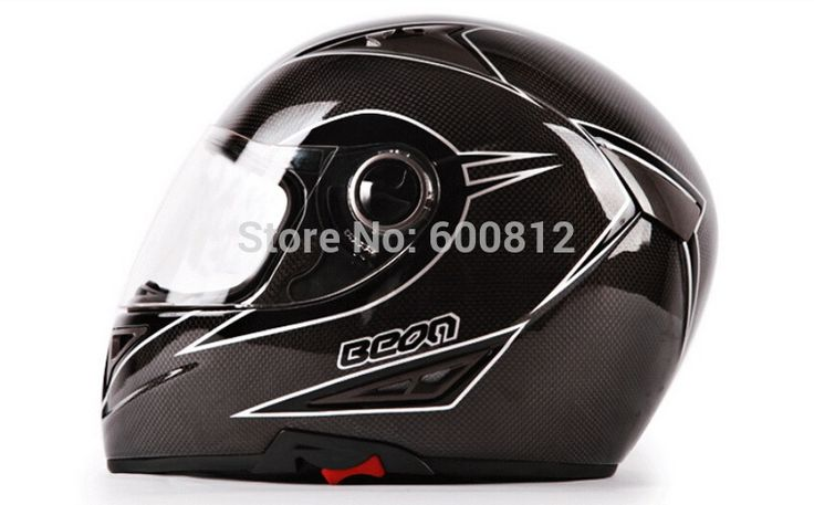 Authentic BEON high-end carbon fiber double lens suv full face motocross motorcycle helmet B-550 winter warm OFF Road helmets