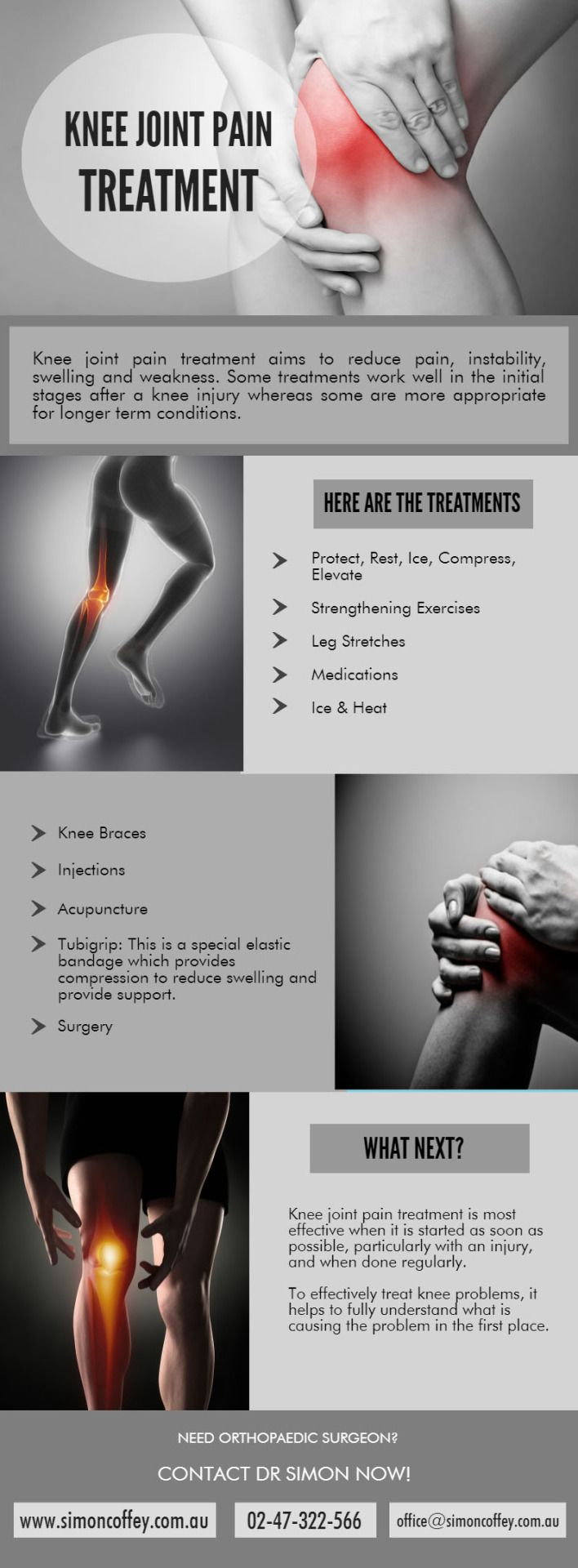 Knee Replacement Joint Pain Treatment - Dr. Simon Coffey  #KneeReplacement #TotalKneeReplacement #KneeSurgery