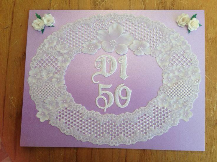 Made for a dear friends 50tj Birthday