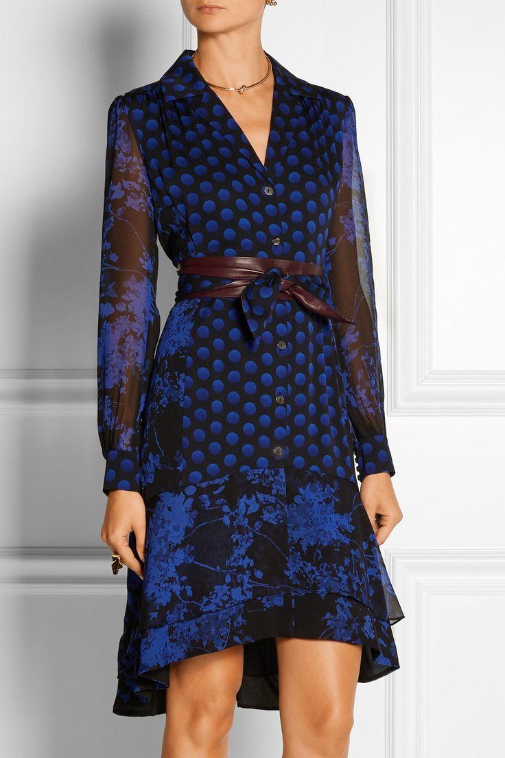 Diane von Furstenberg. Silk DressCatherine ...