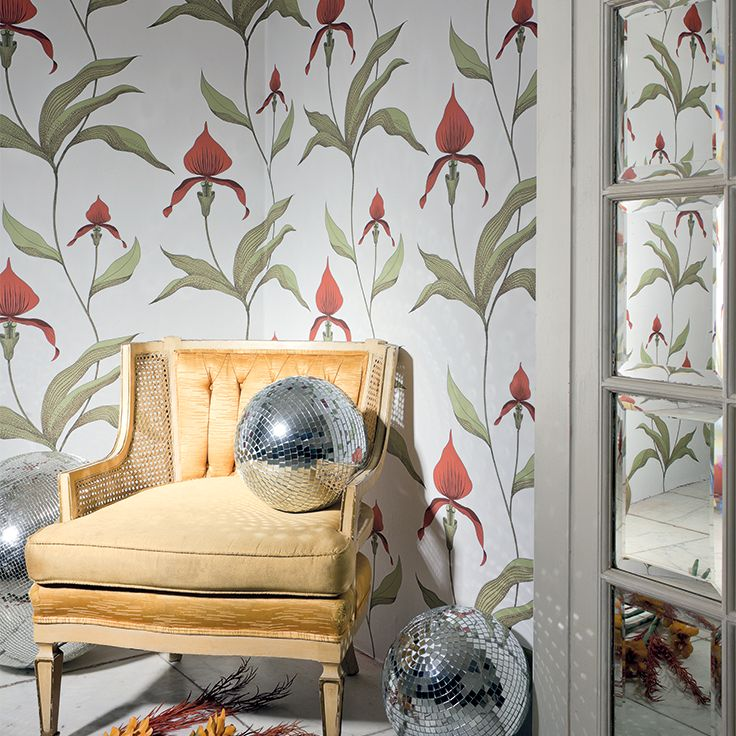 cole u0026 son restyled orchid cole u0026 son behang wallpaper