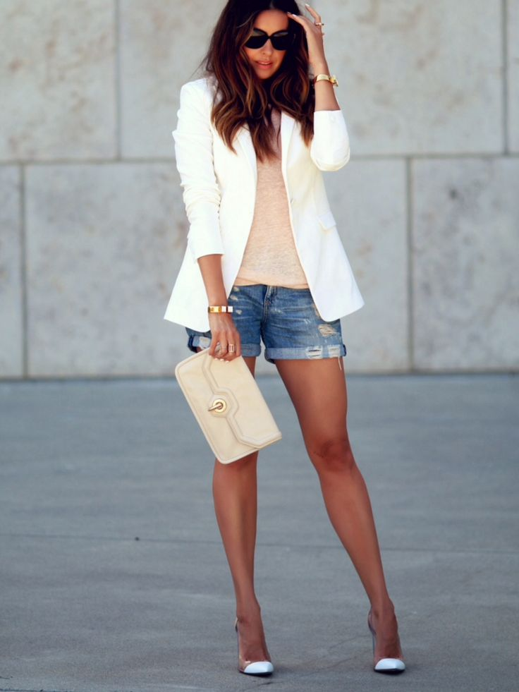 beautiful distressed shorts outfits 12