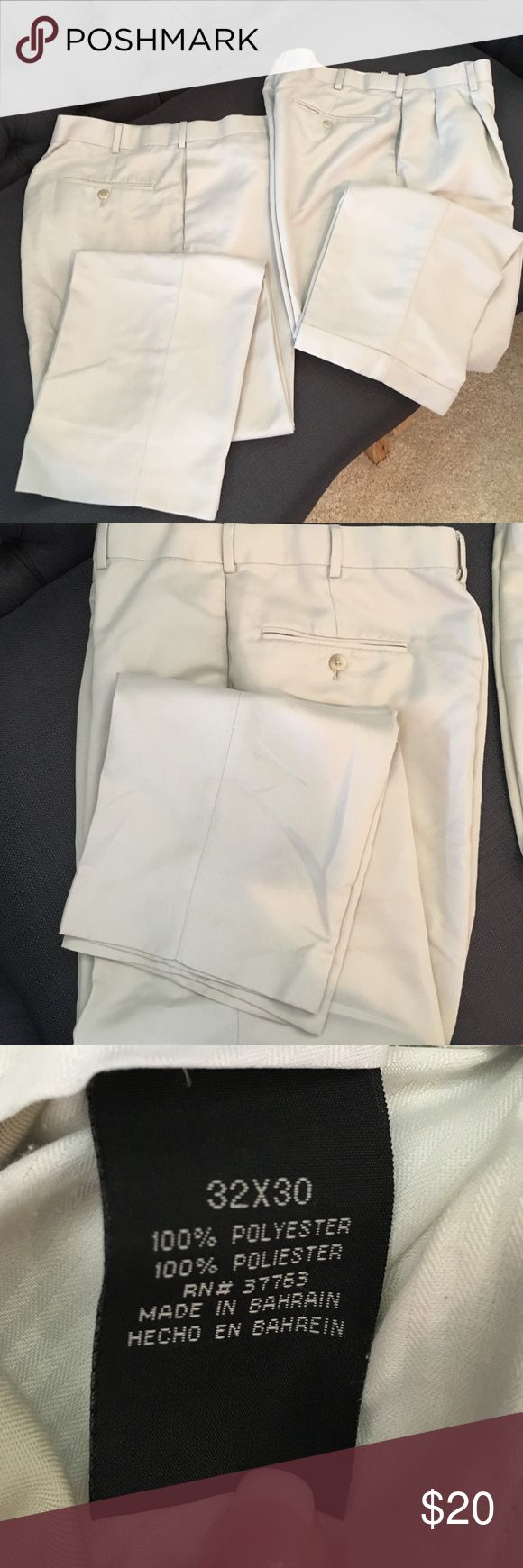 2 Pairs Men's Savane Kakis in great condition 2 Pairs Men's Savane Kakis in great condition Savane Pants