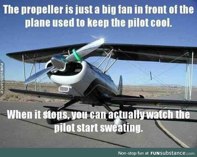 What's the propeller for
