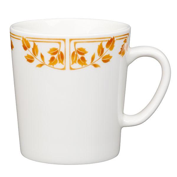 La tazza Isak di Arabia è decorata da un motivo botanico risalente al 1914. Il motivo si ispira allo stile romantico nazionale finlandese.