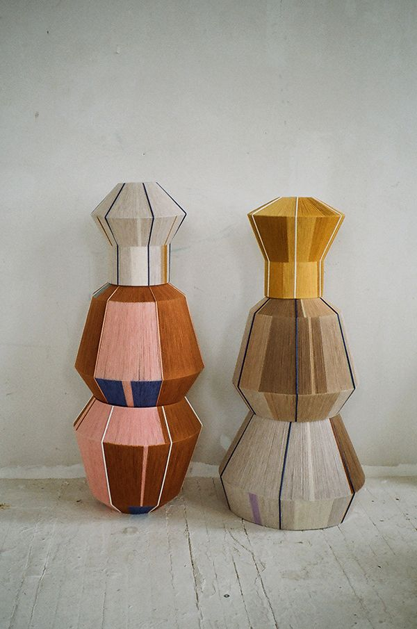 Bonbon lanterns from Ana Kras - the crossroads of tribal, DIY and high concept design. Love her colour choices.