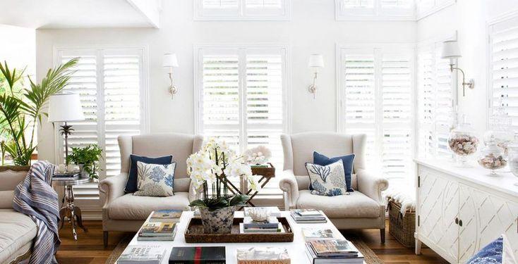 Estilo Los Hamptons, elegancia en la playa  #VilleroyBoch #VilleroyBoches #hometour #casas #espacios #blog #1748 #dejateseducir #diseño #estilo #elegancia #inspiración
