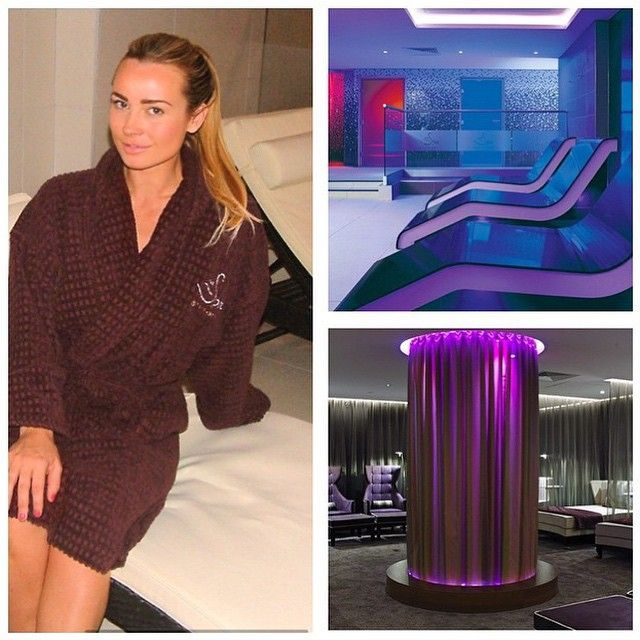 #TBT to when the beautiful @missaharringtonofficial visited our #spa
